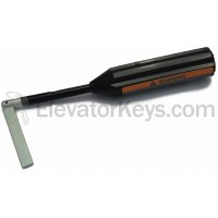Universal Hoistway Door Key, Plastic Handle, for G.A.L. MO-Lock