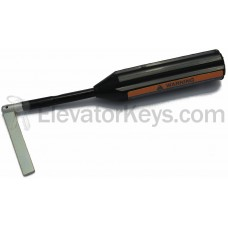 Hoistway Door Key, Plastic Flex-Shaft Handle, for G.A.L. MO-Lock