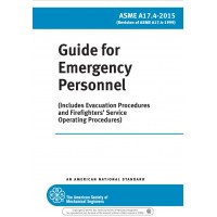 ASME A17.4-2015, Guide for Emergency Personnel (current edition)