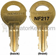 NF217 Key for National Elevator fixtures