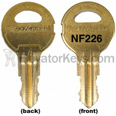 NF226 Key for National Elevator fixtures